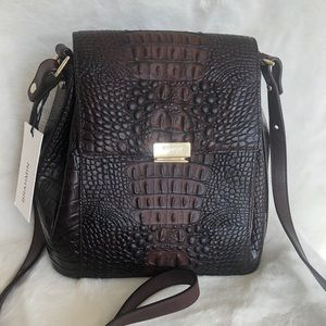 Brahmin MARGO COCOA SPARROW crossbody